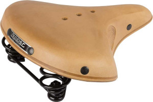 Lepper Concorde 800 Bicycle Saddle 270x210mm Leather - Beige