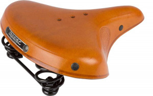 Lepper Concorde 800 Bicycle Saddle 270x210mm - Honey Brown