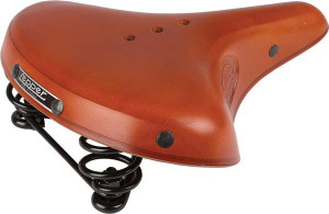 Lepper Concorde 810 Bicycle Saddle Women 250x210mm-Honey Br
