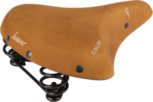 Lepper Concorde 800 Lounger Bicycle Saddle 275x210mm - Beige
