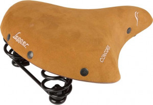 Lepper Concorde 810 L Bicycle Saddle Women 245x210mm - Beige