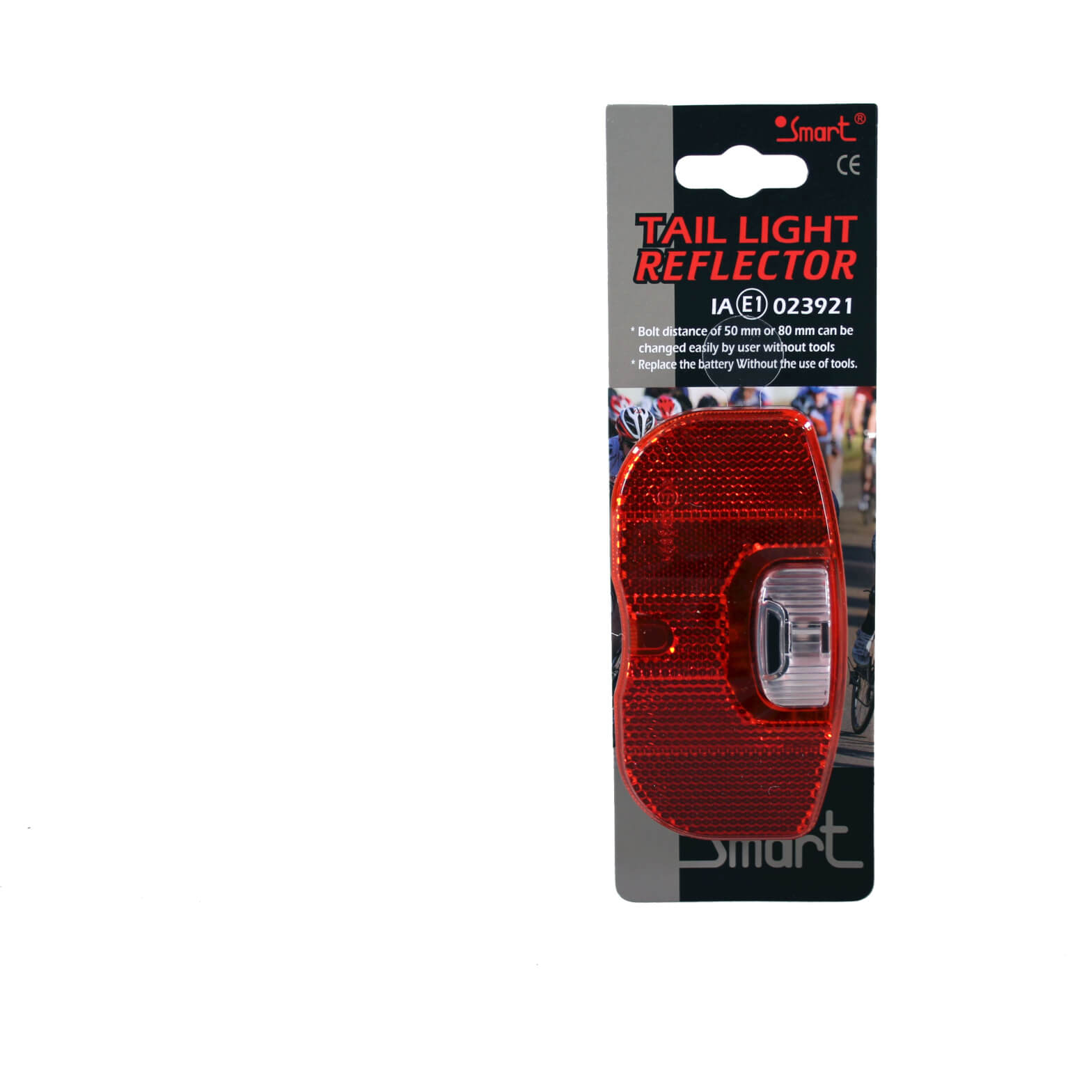 Smart Rear Light Plus LED TL280R 2xAAA 80mm Assembly