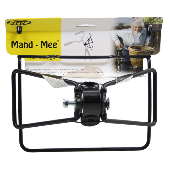 Steco Mand-Mee Carrier with Clamp 25mm - Black