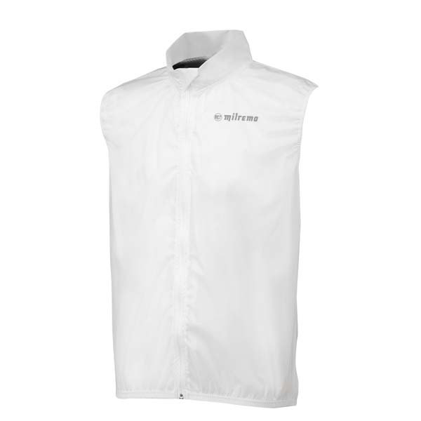 Milremo Regenvest Rain Shell Clear Body Transparent - 3XL