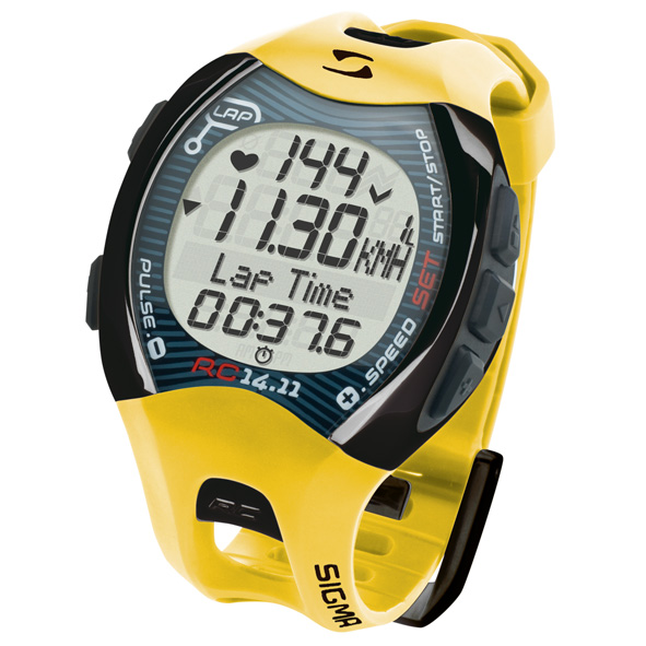 Sigma Sports Watches Pc1411 Yellow