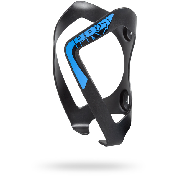 Pro Bottle Cage Aluminum - Black/Blue