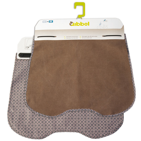 Qibbel Windscreen Flap Elements Brown