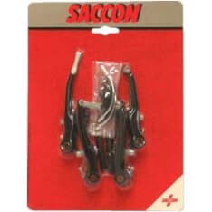 Saccon V-Brake Set Front And Rear Black