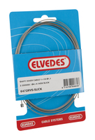 Elvedes Derailleur Inner Cable 1.1mm Inox 2.25m Extra Smooth