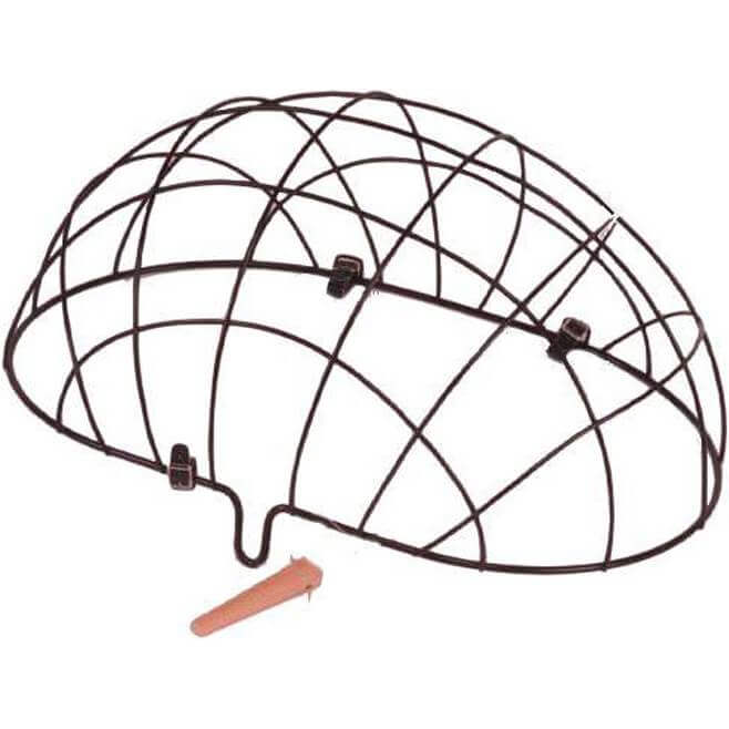 Basil Wire Dome Dog Basket Pluto