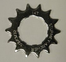 Sprocket 14T Flat 3/32 9 Spline HSL-912