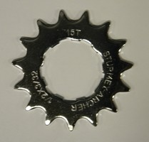 Sprocket 15T Flat 3/32 9 Spline HSL-913