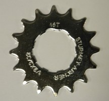 Sprocket 16T Flat 3/32 9 Spline HSL-914