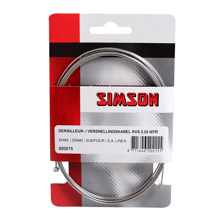 Simson Gear Cable Inside 2,25 m SA Shimano
