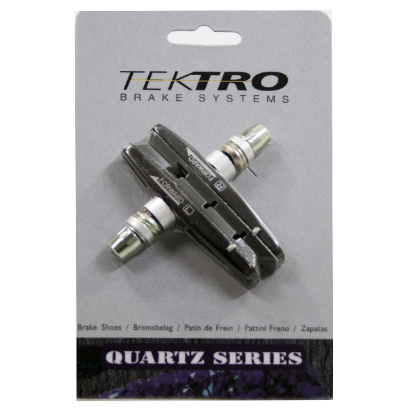 Tektro Brake Pad Set V-Brake Cartridge Silver