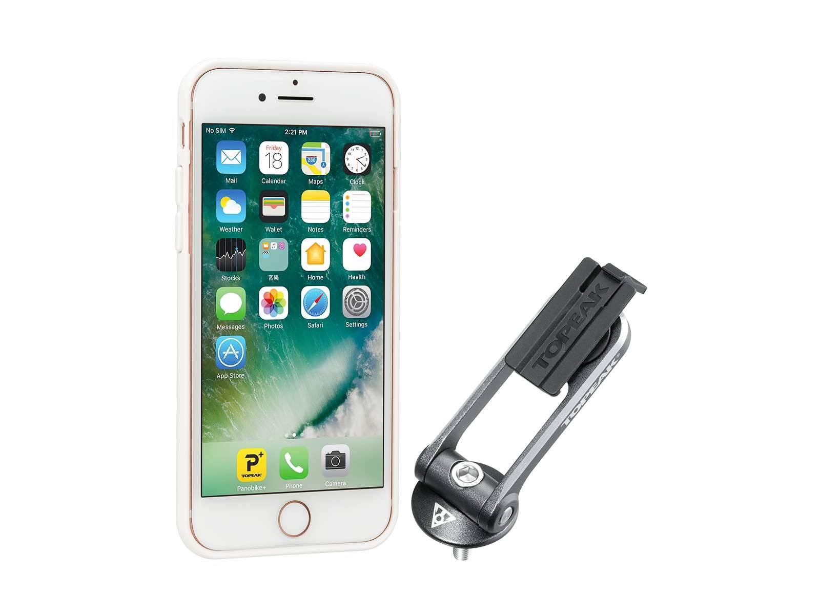 Topeak Ridecase Phone Holder For Iphone 6+/6S+/7+ - White