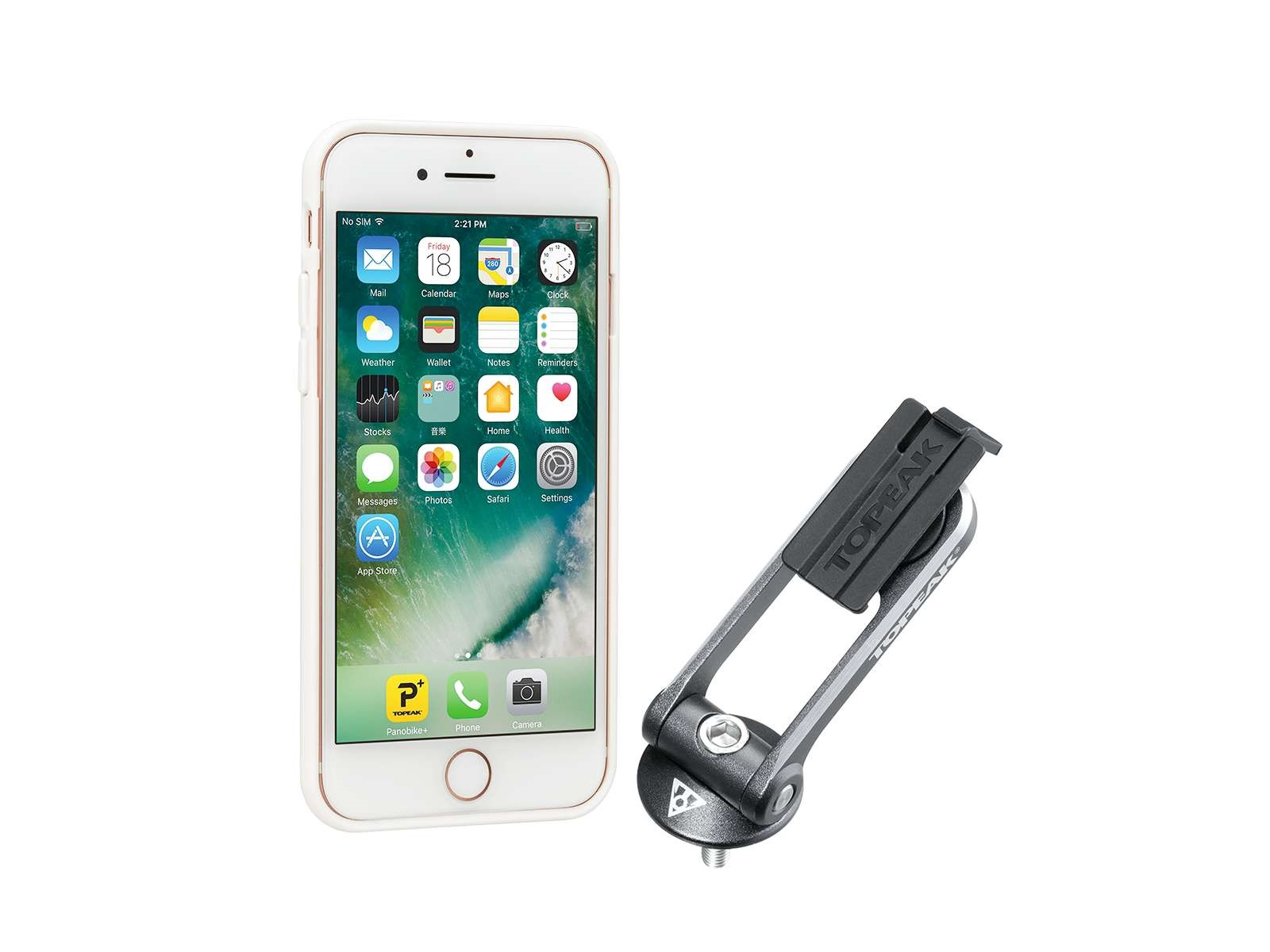 Topeak Ridecase Phone Holder For Iphone 6/6S/7 - White