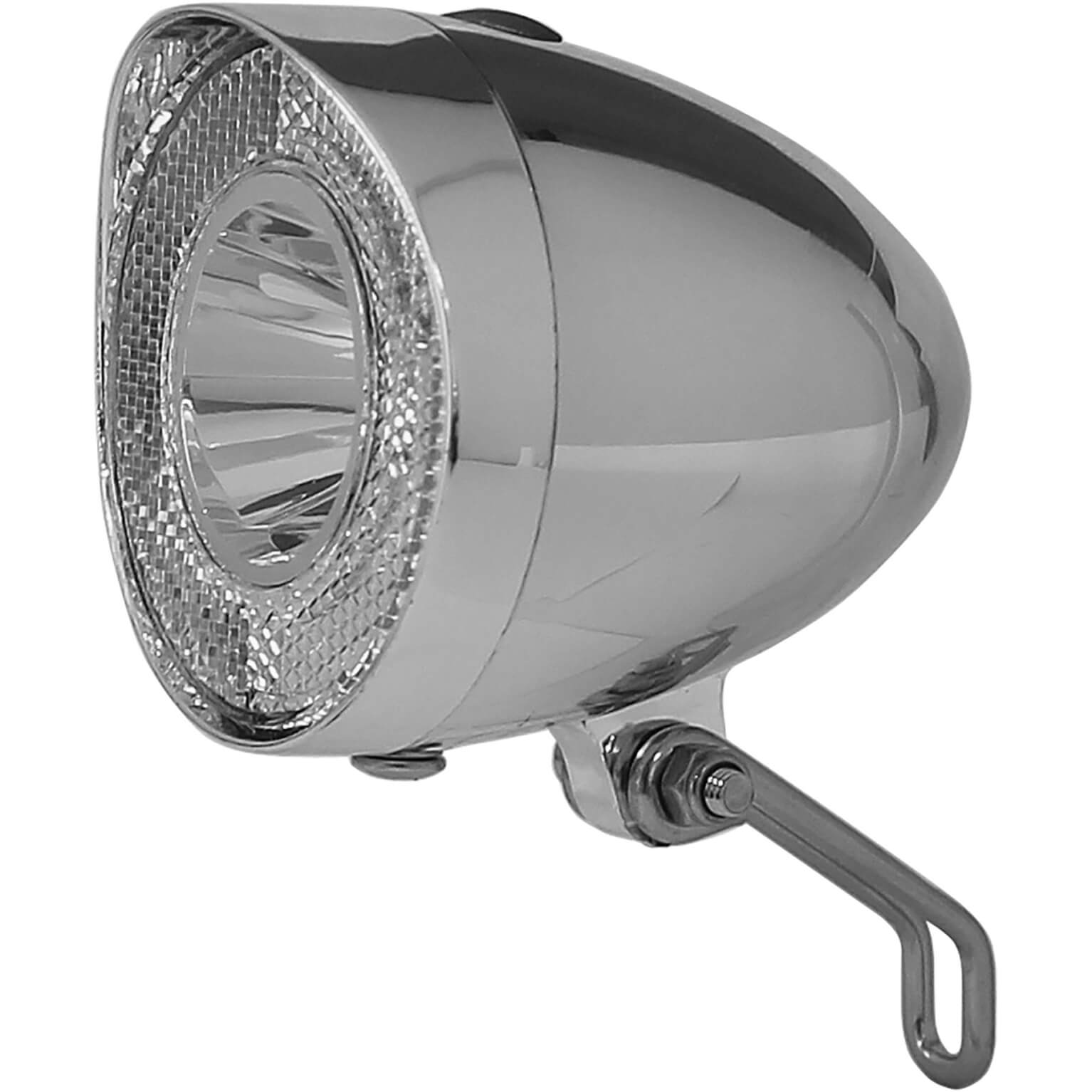 Union Headlight UN-4915 Retro Led on Batteries - Chrome