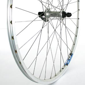 Front Wheel 26X 1.75 Deore Stainless Zac19 Silver