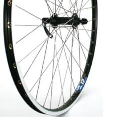 Front Wheel 26X 1.75 Deore Stainless Zac19 Black