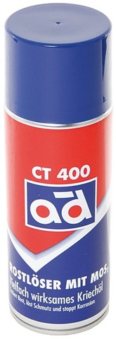 AD Rust Solvent CT 400 Spray Can 400ml