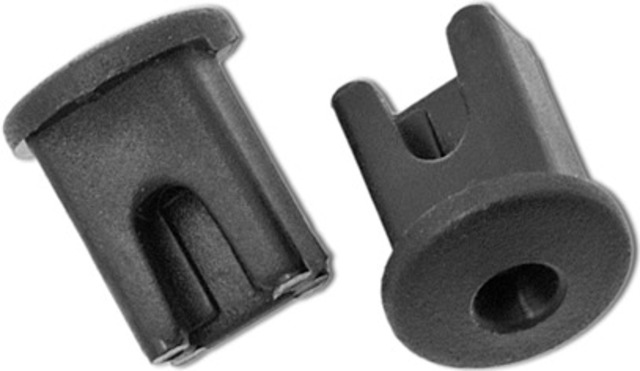 Axa Cable Clamp for Cable to Ground / Dynamo - Black