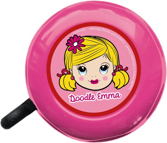 BikeFashion Children´S Bicycle Bell Doodle Emma Pink