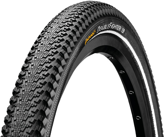 Continental Double Fighter 3 Tire 16x1.75 Reflective - Bl
