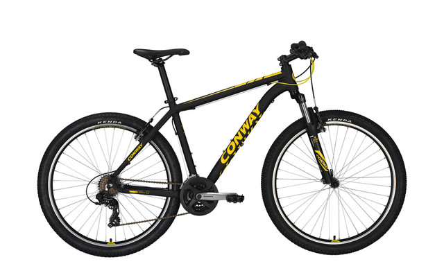 Conway MS 227 Men 27.5 Inch 44cm 21S - Black/Yellow