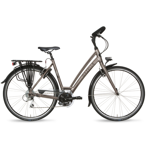 Gazelle Ladies Bike Chamonix T24 49cm 24V Sienna