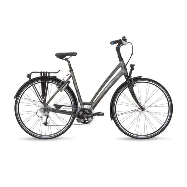 Gazelle Ladies Bike Charmonix S27 57cm 27V Night Black