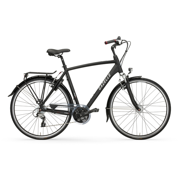 Gazelle Mens Bike Vento T24 53cm 24V Matt Black