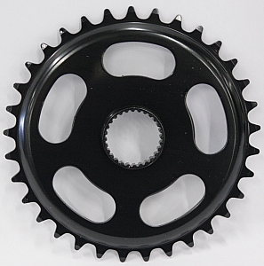 Gazelle Chainring 18 Teeth 3/32 - Black