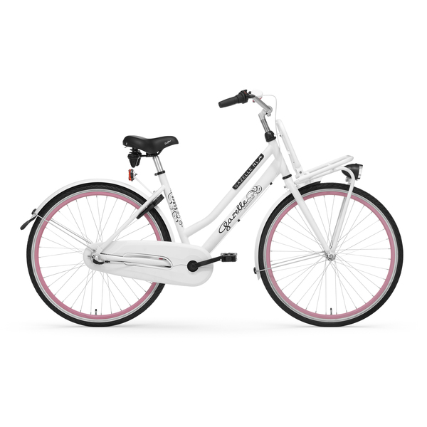 Gazelle Girls Bicycle Miss Grace 26 Inch 3V Snow White