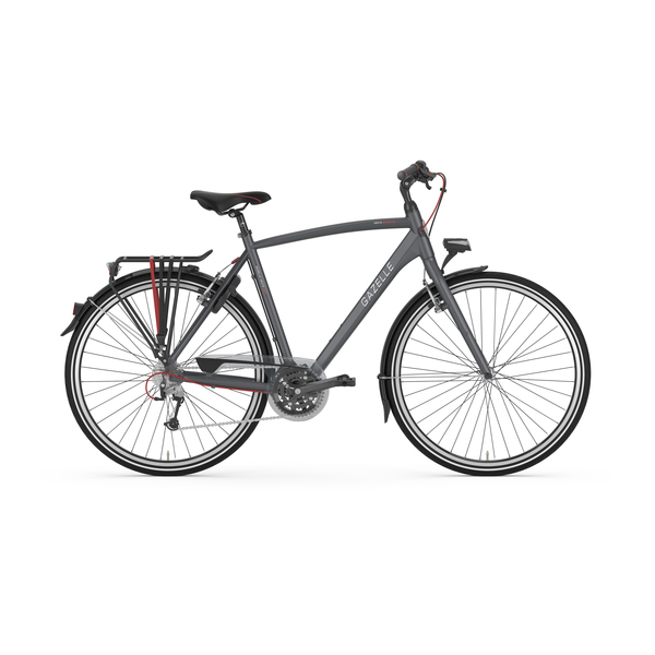 Gazelle Vento S27 Mens Bike 61cm 27S - Night Black