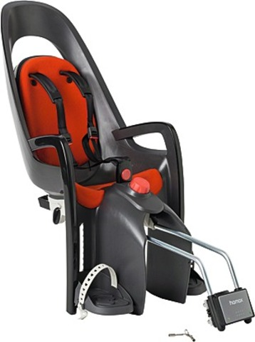 Hamax Bicycle Childseat Caress Maxi Gray/Red