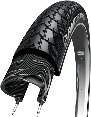 Hartje Tire Skip 18  x 1.75 Reflective Black