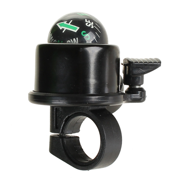 HBS Bicycle Bell 40mm Compass Black