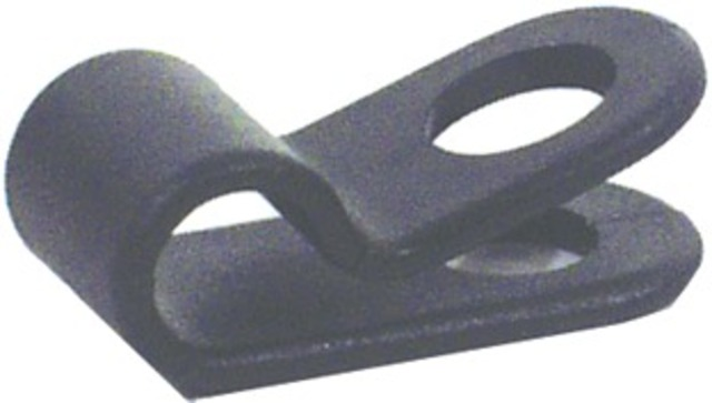 HBS Cable Clamp Ø5.5 x 12.7mm Plastic - Black