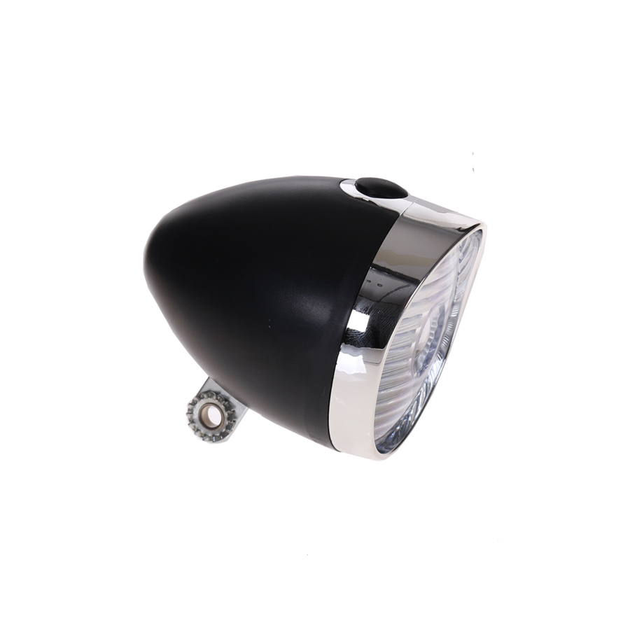 HBS Headlight 1 LED On/Out Black