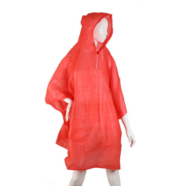 HBS Poncho Lightweight - RED