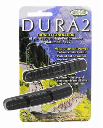 Kool Stop Brake Pad Dura 2 Black For Shimano Dura-Ace