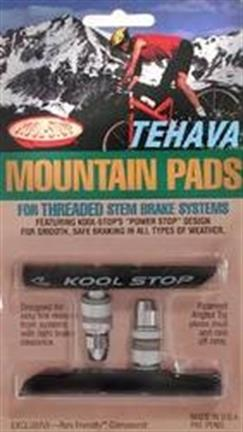 Kool Stop Brake Pads V-Brake Mtb Countoured - Black