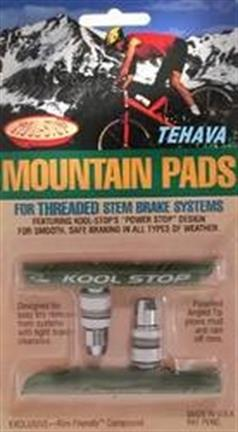 Kool Stop Brake Pads V-Brake Mtb Countoured Ceramic