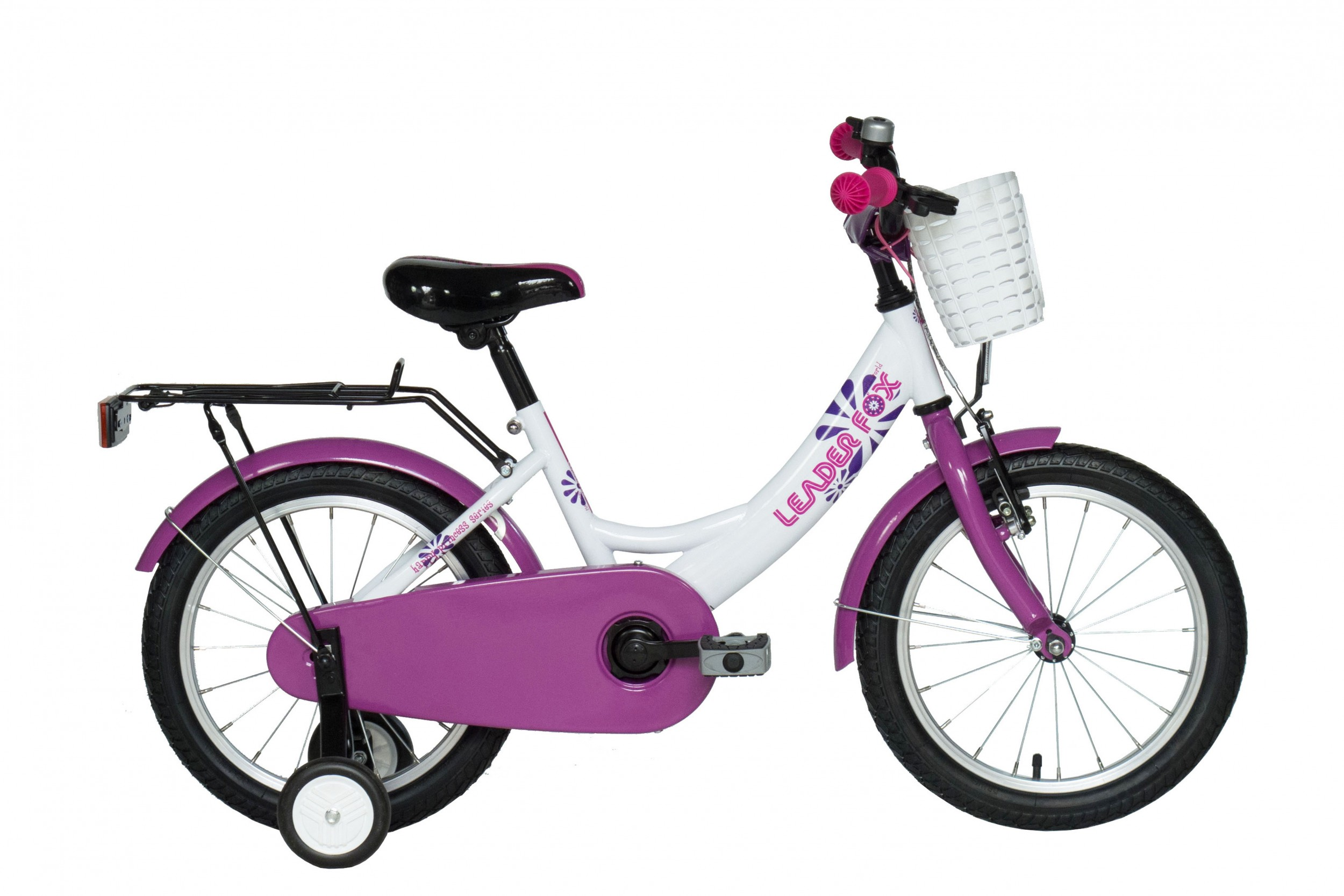 Leader Fox Pony Girls Bicycle 16 Inch 23cm - White
