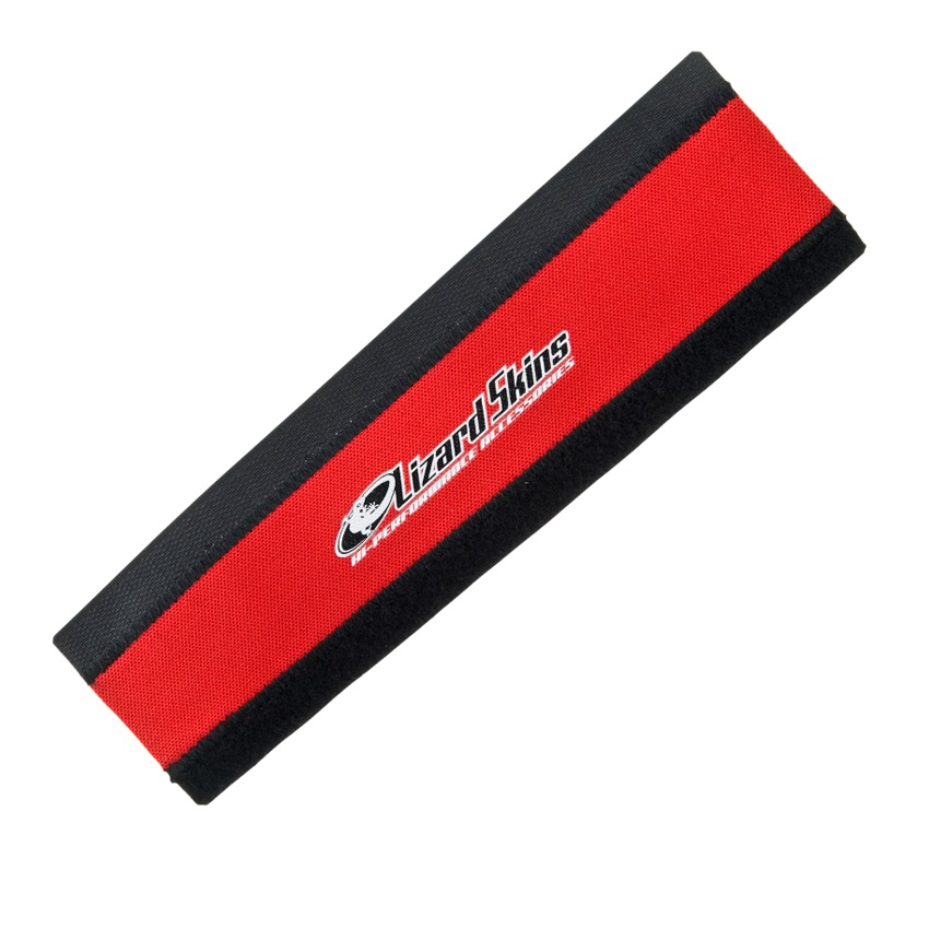Lizzardskins Chainstay Protector Neoprene Large - Red