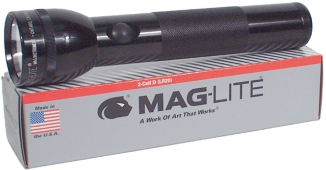 Mag-Liter Flash Light S2D105 2 D-Cell Batteries 26cm Long