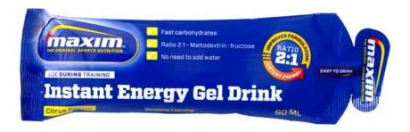 Maxim Energy Gel Drink 60ml Lemon Taste (25)