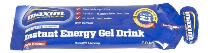 Maxim Energy Gel Drink 60ml Cola Taste (25)