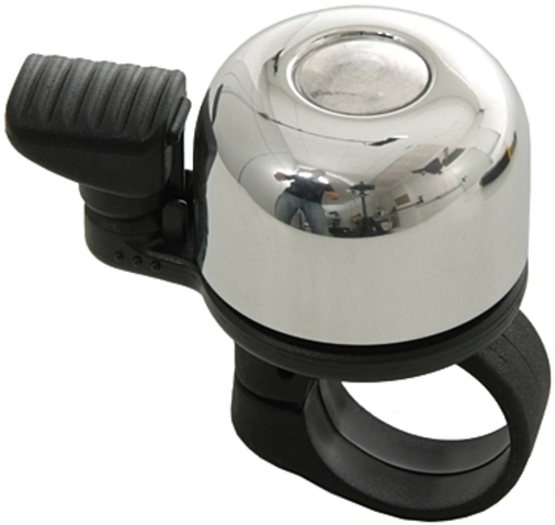 Mounty Bicycle Bell Mini Billy Alu - Silver
